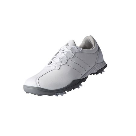 Golf undefined adidas adiPure DC Women's Golf Shoe - White/Silver made by Adidas Golf