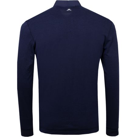 Polo Brayden Cotton Poly JL Navy Melange - AW18 J.Lindeberg Picture