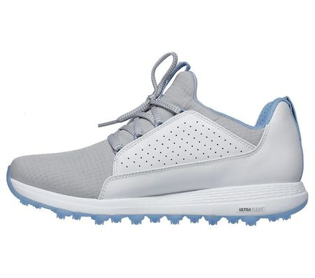 Shoes GO GOLF Max Mojo Women's Golf Shoe - White/Grey Skechers Picture