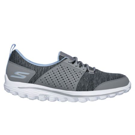 Golf undefined Skechers GOwalk 2 Sugar Women's Golf Shoe - Grey/Blue made by Skechers