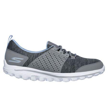 Shoes Skechers GOwalk 2 Sugar Women's Golf Shoe - Grey/Blue Skechers Picture
