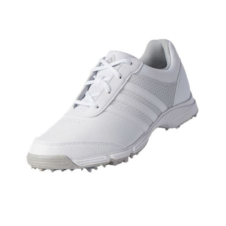 Golf undefined adidas Tech Response Women's Golf Shoe - White/Silver made by Adidas Golf