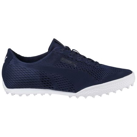 Shoes PUMA Monolite Cat Woven Women's Golf Shoe - Navy Puma Golf Picture