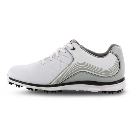 Golf undefined Pro/SL Women's Golf Shoe - White/Charcoal made by FootJoy