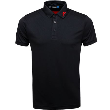 Golf undefined KV Regular Fit TX Jersey Black - 2019 made by J.Lindeberg