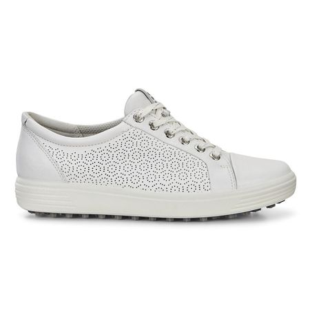 Shoes ECCO Casual Hybrid Women's Golf Shoe - White ECCO Picture