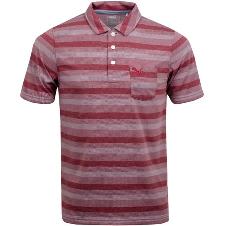 Golf undefined Local Pro Polo Pomegranate - AW18 made by Puma Golf