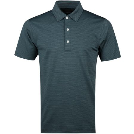Golf undefined Addison Jersey Polo Oak/Kale - AW18 made by Dunning