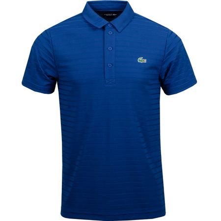 Golf undefined Technical Jacquard Polo Inkwell - AW18 made by Lacoste