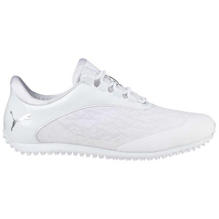Shoes PUMA SummerCat Sport Women's Golf Shoe - White/Silver Puma Golf Picture