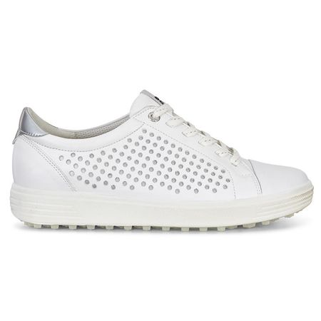 Golf undefined ECCO Casual Hybrid 2 Perf Women's Golf Shoe - White made by ECCO