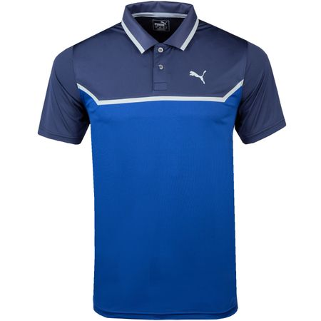 Golf undefined Bonded Tech Polo Peacoat/Sodalite Blue - AW18 made by Puma Golf