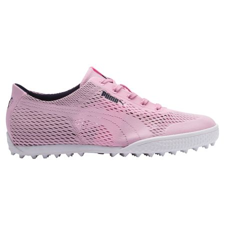 Golf undefined Monolite Cat Woven Women's Golf Shoe - Pink/Navy made by Puma Golf