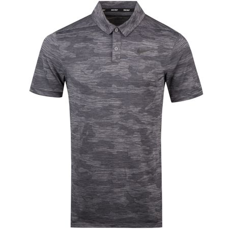 Golf undefined Zonal Cooling Polo Camo Gunsmoke - AW18 made by Nike Golf