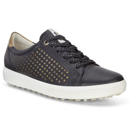Shoes ECCO Casual Hybrid 2 Perf Women's Golf Shoe - Black ECCO Picture