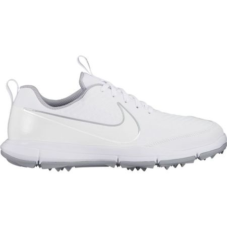 Golf undefined Nike Explorer 2 Women's Golf Shoe - White/White made by Nike Golf