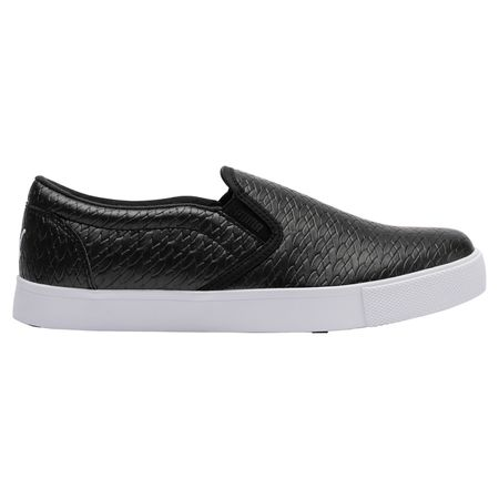 Shoes Tustin Slip-On Women's Golf Shoe - Black/White Puma Golf Picture