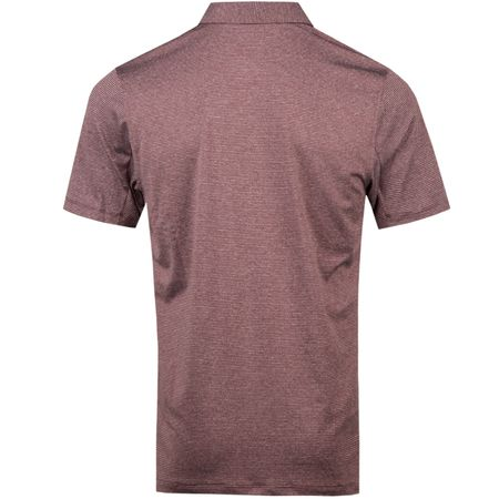 Golf undefined Dry Control Stripe Polo Burgundy - AW18 made by Nike Golf