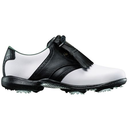 Golf undefined FootJoy DryJoys Women's Golf Shoe - White/Black made by FootJoy