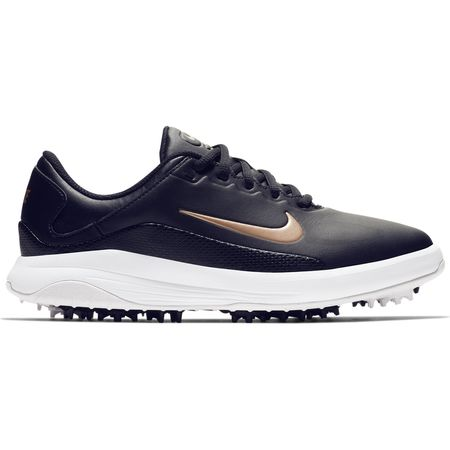 Golf undefined Nike Vapor Women's Golf Shoe - Black/White made by Nike