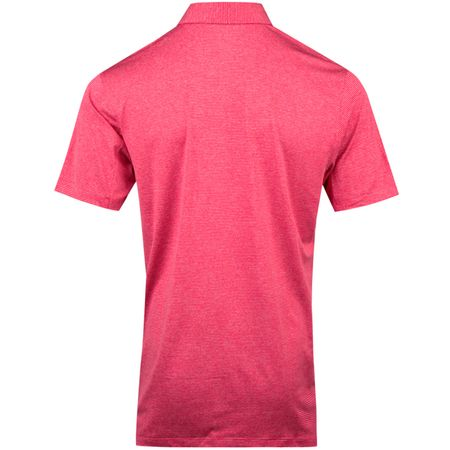 Golf undefined Dry Control Stripe Polo Rush Pink - AW18 made by Nike Golf