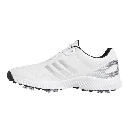 Golf undefined Response Bounce BOA Women's Golf Shoe - White/Silver made by Adidas Golf