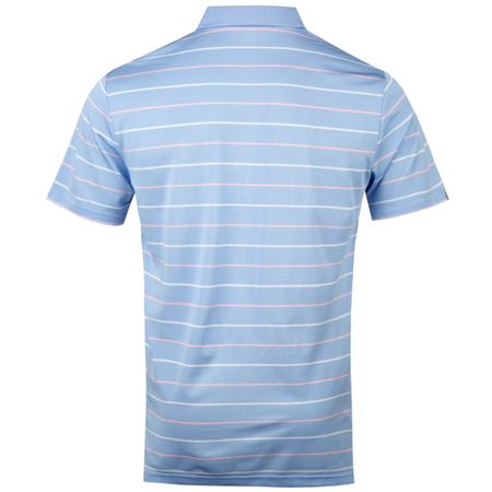 Golf undefined Striped Tech Pique Austin Blue/Garden Pink/Pure White - AW18 made by Polo Ralph Lauren