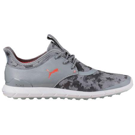 Shoes PUMA IGNITE Spikeless Sport Floral Women's Golf Shoe - Grey Puma Golf Picture