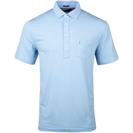 Golf undefined Stripe Stretch Vintage Lisle Austin Blue/Celadon - AW18 made by Polo Ralph Lauren