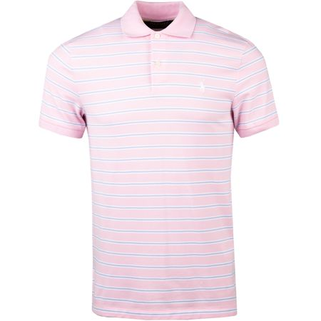 Golf undefined Performance Pique Stripe Garden Pink/White - AW18 made by Polo Ralph Lauren