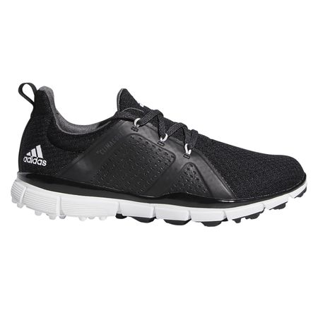 Shoes Climacool Cage Women's Golf Shoe - Black/White Adidas Golf Picture
