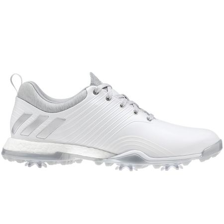 Golf undefined adidas adipower 4ORGED Women's Golf Shoe - White/Silver made by Adidas Golf