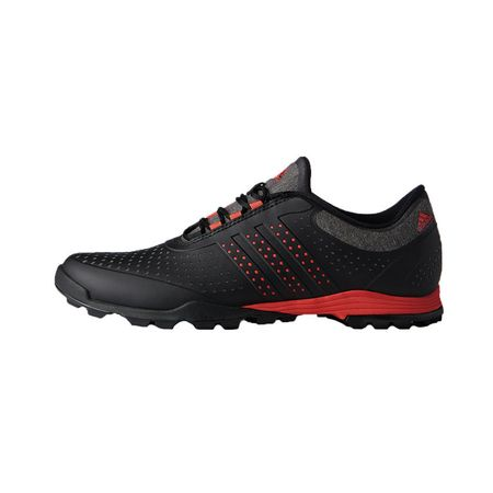 Shoes adidas adiPure Sport Women's Golf Shoe - Black/Red Adidas Golf Picture