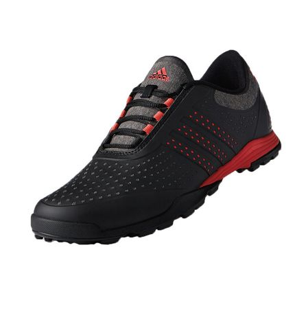 Golf undefined adidas adiPure Sport Women's Golf Shoe - Black/Red made by Adidas Golf