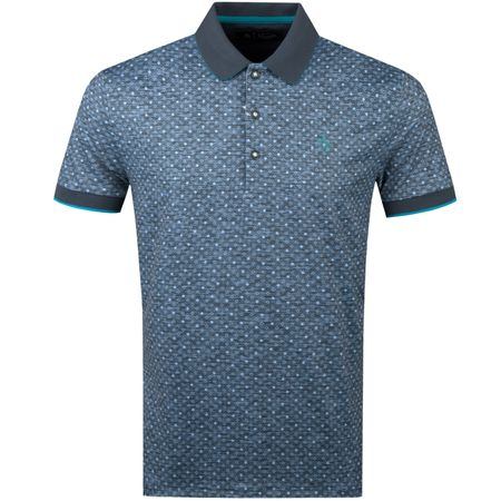 Polo Geo Swag Polo Black Iris Original Penguin Picture