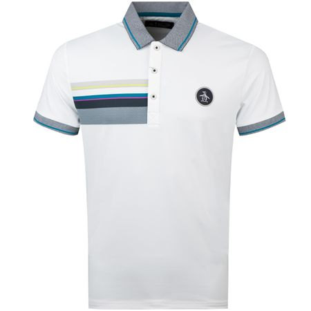 Golf undefined Oxford Patch Polo Star White made by Original Penguin
