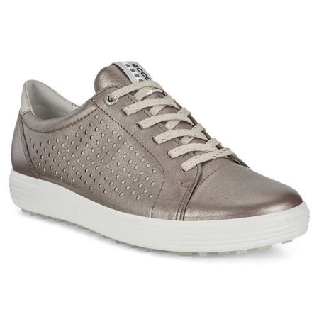 Golf undefined ECCO Casual Hybrid Perf Women's Golf Shoe - Grey made by ECCO