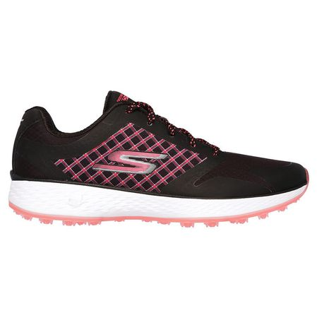 Golf undefined Skechers GO GOLF Eagle Rival Women's Golf Shoe - Black/Pink made by Skechers