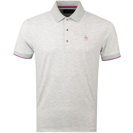 Polo Geo Swag Polo Pearl Blue Original Penguin Picture
