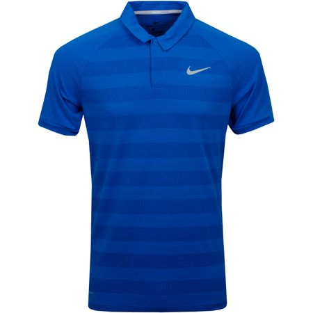 Golf undefined Zonal Cooling Stripe Polo Blue Nebula made by Nike Golf