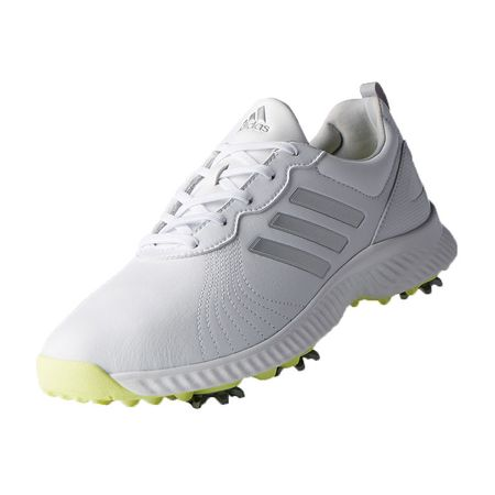 Shoes adidas Response Bounce Women's Golf Shoe - White/Silver Adidas Golf Picture