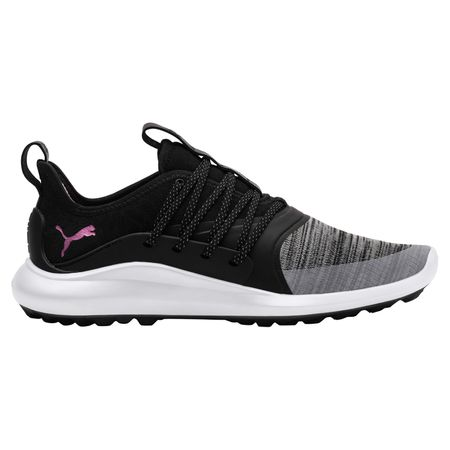 Golf undefined IGNITE NXT SOLELACE Women's Golf Shoe - Black/Pink made by Puma Golf