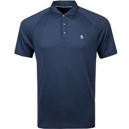 Golf undefined Action Gusset Polo Black Iris - 2018 made by Original Penguin