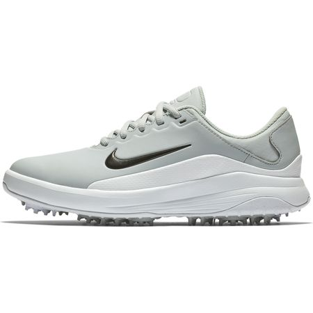 Golf undefined Nike Vapor Women's Golf Shoe - White/Grey made by Nike