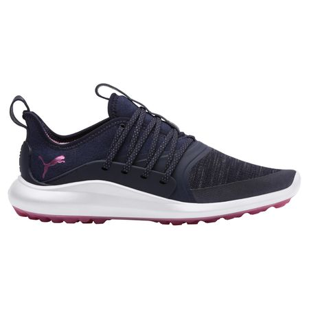 Golf undefined IGNITE NXT SOLELACE Women's Golf Shoe - Navy/Pink made by Puma Golf