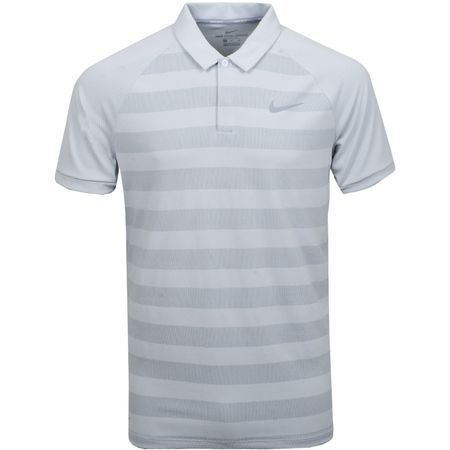 Golf undefined Zonal Cooling Stripe Polo White made by Nike