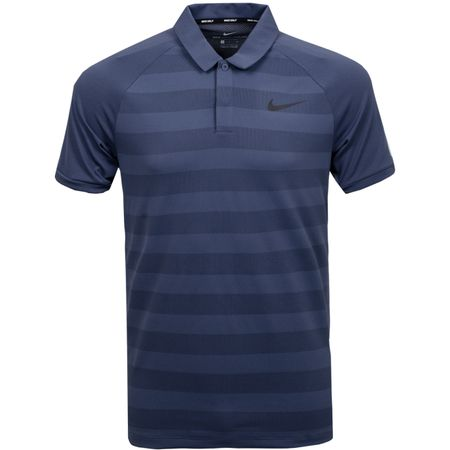 Golf undefined Zonal Cooling Stripe Polo Thunder Blue made by Nike Golf