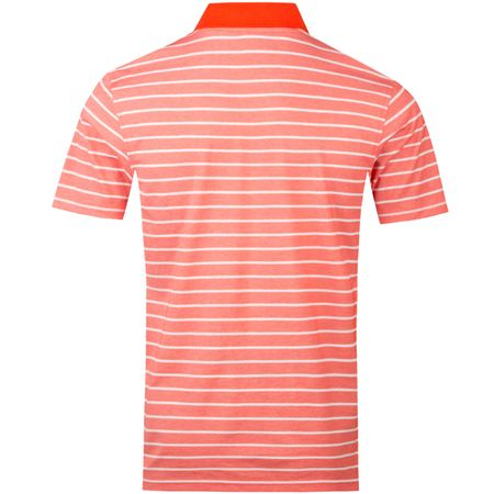 Golf undefined Double Face Stripe Golf Polo Strawberry - 2018 made by Psycho Bunny