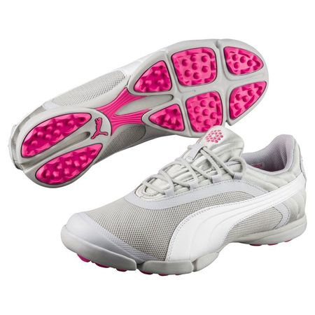 Golf undefined PUMA Sunnylite V2 Mesh Women's Golf Shoe - Grey/White made by Puma Golf