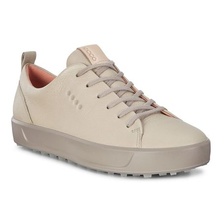 Golf undefined ECCO Golf Soft Low Women's Golf Shoe - Light Brown made by ECCO